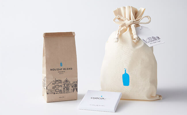 Blue Bottle Coffee/【オンラインストア限定】コーヒーとチョコレートのセット(ホリデーブレンド)