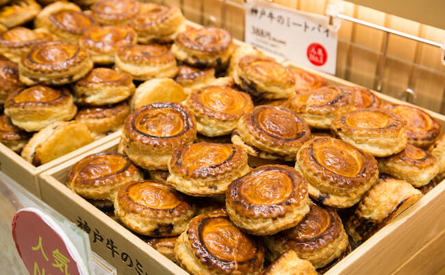 『神戸牛のミートパイ』の「神戸牛のミートパイ」
