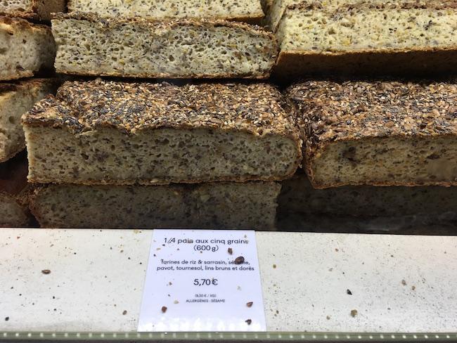 パリのパン屋『chambelland(シャンベラン)』のセサミのパン