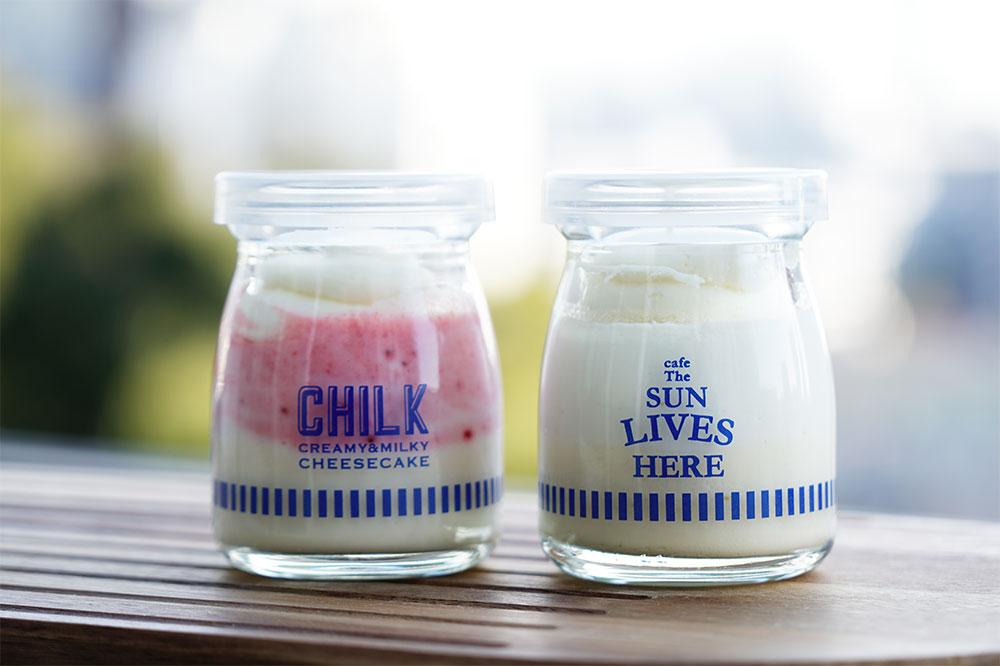 三軒茶屋土産の新定番『cafe The SUN LIVES HERE』のチーズケーキ「CHILK」