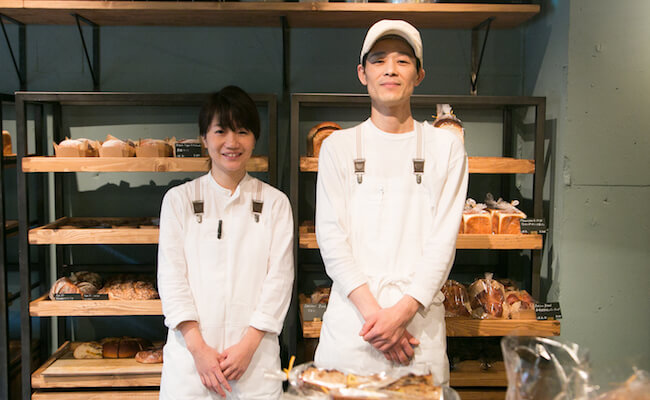 『MORETHAN BAKERY(モアザンベーカリー)』のお店の方