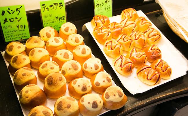 『TOTSZEN BAKER`S KITCHEN(トツゼンベーカーズキッチン)』のパン
