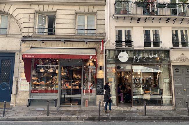 パリのカフェ『le stube』の外観