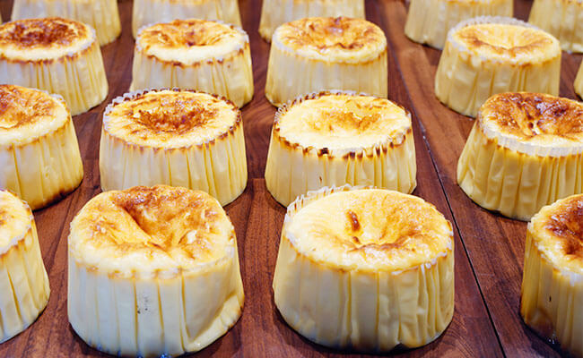 本場サンセバスチャンの人気バル直伝!白金『ガスタ』のバスクチーズケーキ