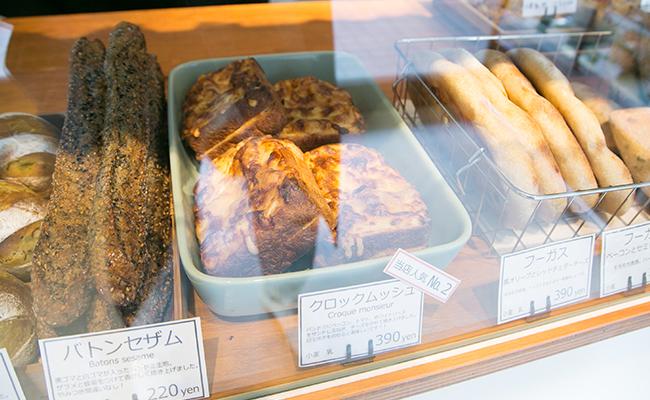 保谷のパン屋『Pittoresque(ピトレスク)』のパンドミを使ったクロックムッシュ