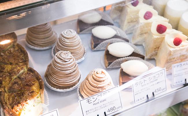 保谷のパン屋『Pittoresque(ピトレスク)』のケーキ