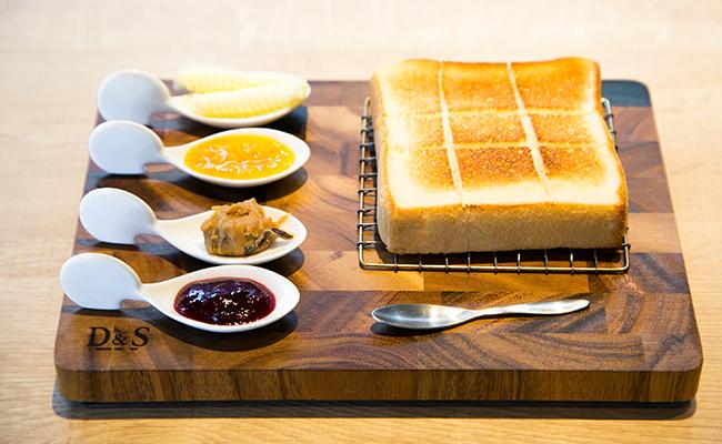 食パン専門店『嵜本』のトーストメニュー