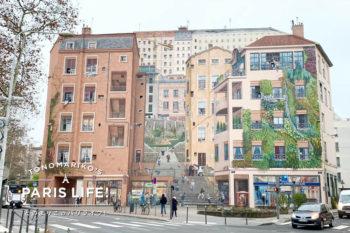 リヨンの名物!壁面に描かれた巨大&リアルすぎるだまし絵「トロンプ・ルイユ」