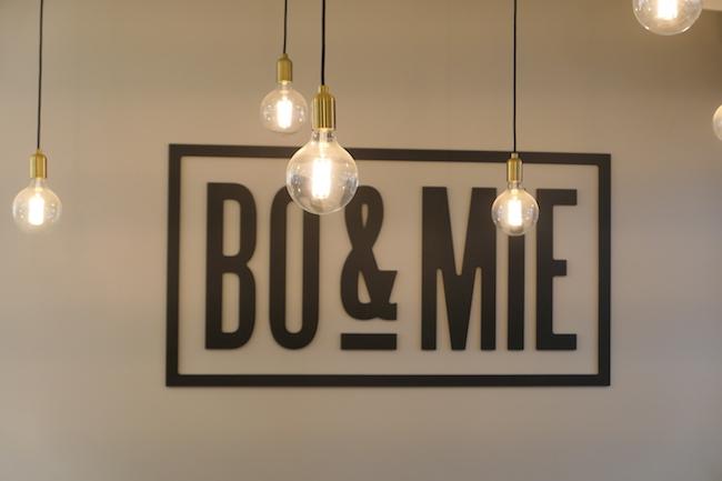 パリのパン屋さん『BO&MIE(ボ アンド ミー)』の内観