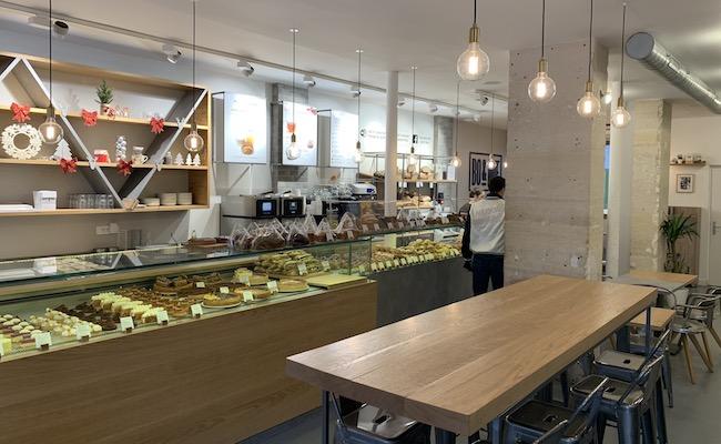 パリのパン屋さん『BO&MIE(ボ アンド ミー)』の店内