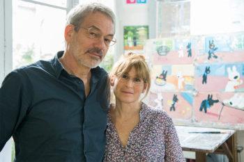 リサとガスパールの作者アンさん、ゲオルグさんの夫婦二人三脚の作品作り