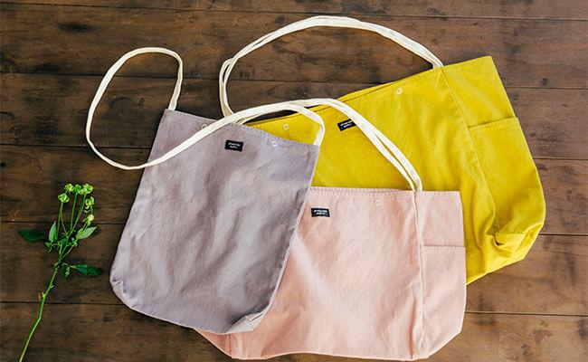 春のおでかけの相棒に!「スタンダードサプライ」の春色バッグ