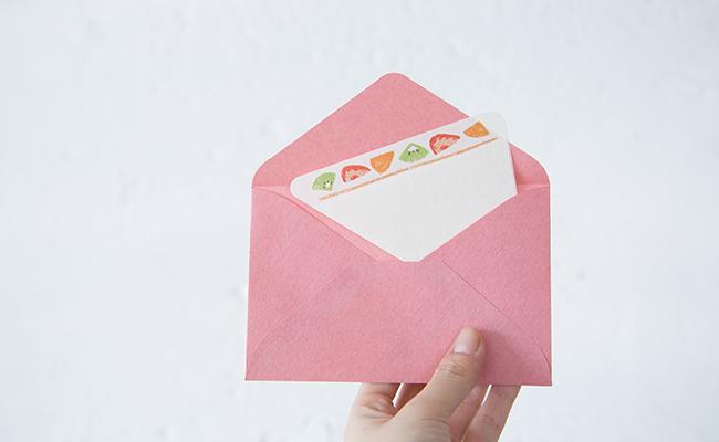 紙製パンシリーズ「サンドイッチレター」