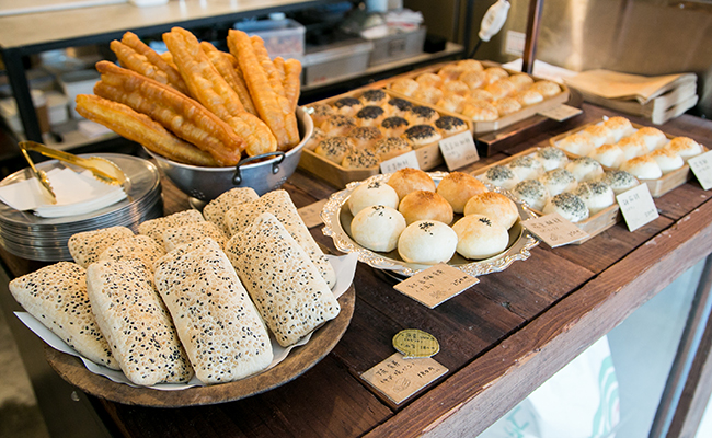 『東京豆漿生活』のパン