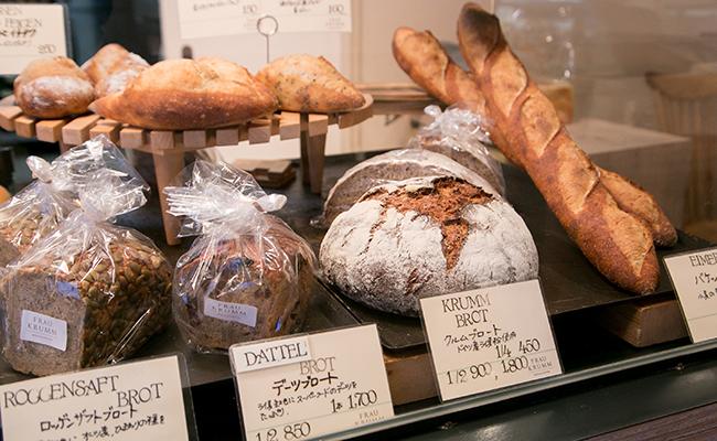 恵比寿『FRAU KRUMM(フラウクルム)』のドイツパン