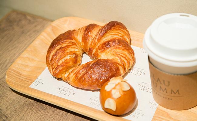 恵比寿『FRAU KRUMM(フラウクルム)』のパンとコーヒー