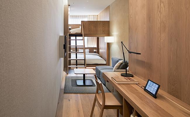 『MUJI HOTEL GINZA』の客室