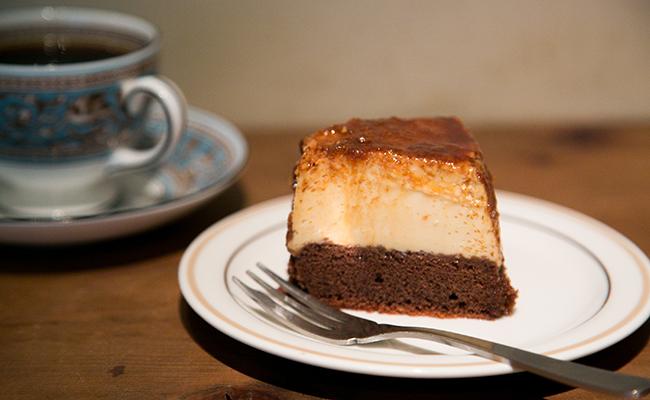 学芸大学『Roman Recoads Cafe(ロマンレコーズカフェ)』の「ブラジリアンプヂン」