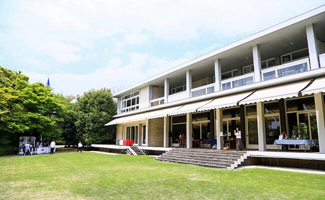フランス大使公邸のお庭