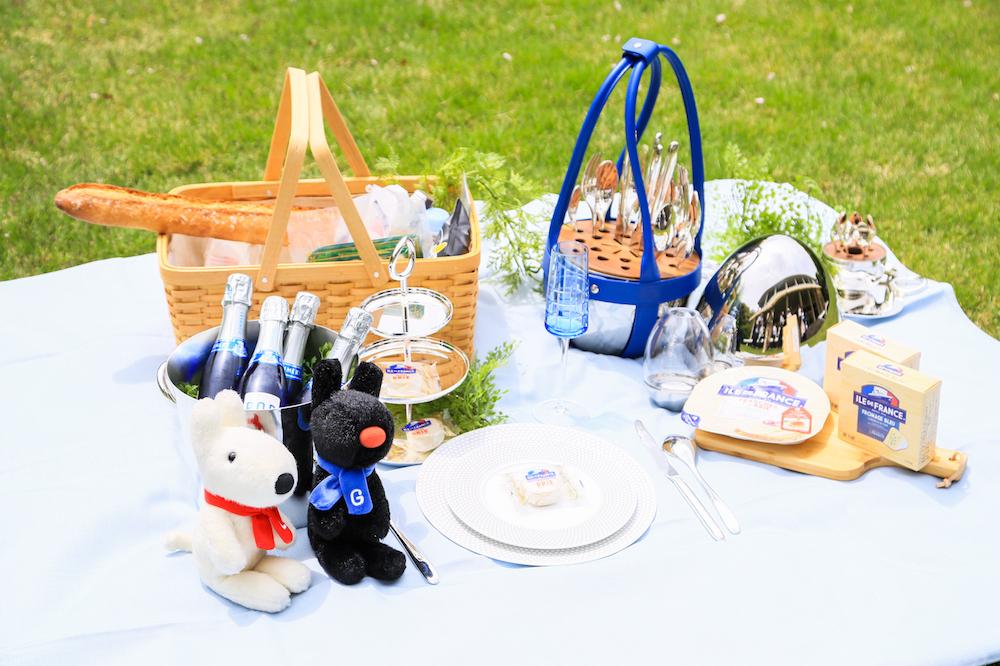 お庭でピクニック!「草上の昼食」でフランスの食文化を堪能