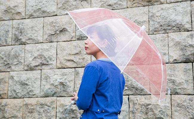 傘『+TIC(プラスチック)』の「レッド」