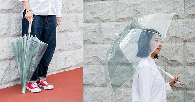 傘『+TIC(プラスチック)』の「グリーン」