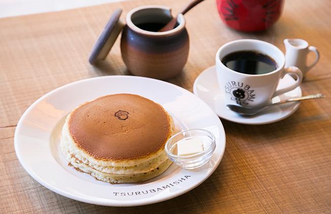 経堂『ホットケーキつるばみ舎』のホットケーキ