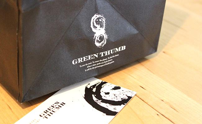渋谷『GREEN THUMB』のロゴマーク