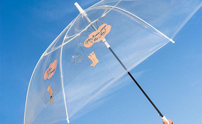 ビニール傘がおしゃれ&エコに進化!長く大切に使いたい傘『+TIC』