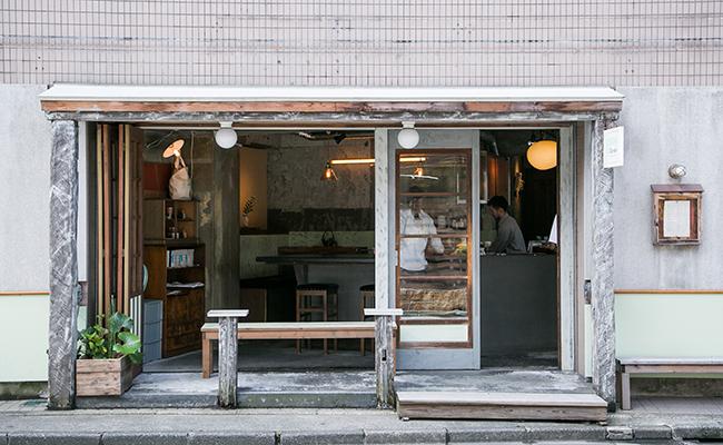 『Satén japanese tea(サテン ジャパニーズティー)』の外観