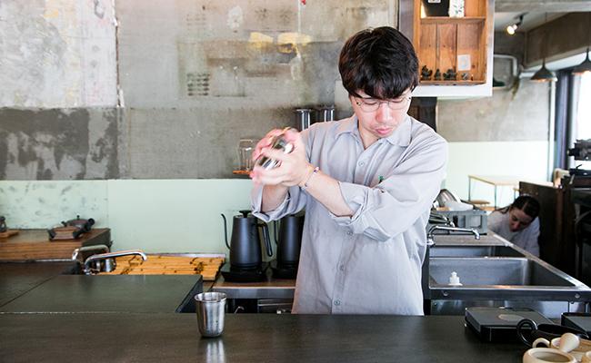 『Satén japanese tea(サテン ジャパニーズティー)』茶リスタの小山さん