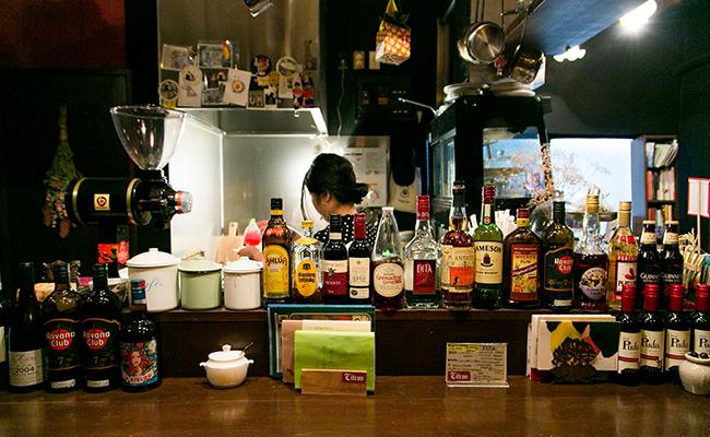 高円寺『Citron(シトロン)』の店内
