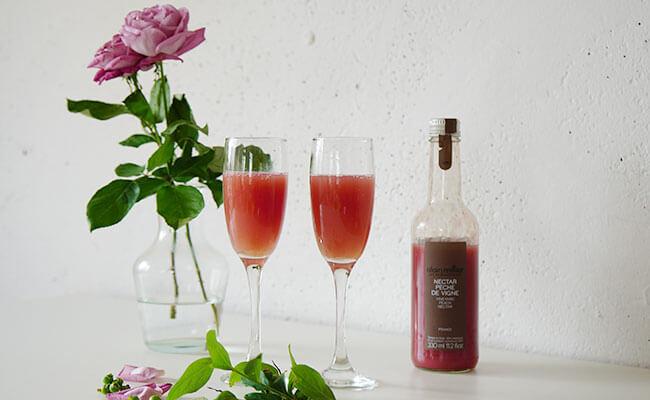 まるでワインのようなジュース!アラン・ミリアで作るノンアルコールカクテル