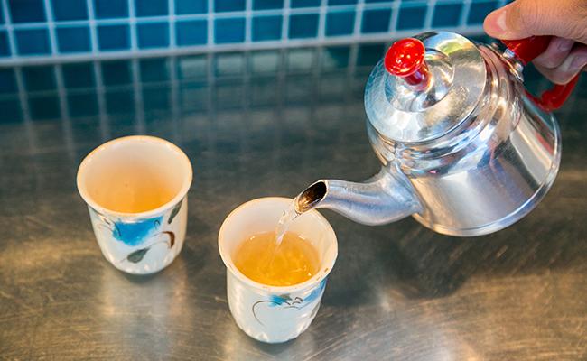 『ECODA HEM(エコダヘム)』のハス茶