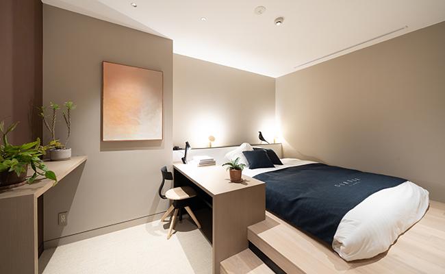 浅草橋のミニマルホテル『OUR OUR』の「PRIVATE ROOM」