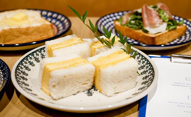 食パン専門店『浅草 靑 -AO-』の食パンで作るたまごサンド