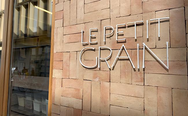 パリのパン屋さん『LE PETIT GRAIN(ル・プティ・グラン)』の外観