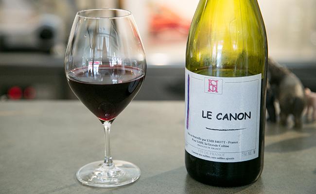 赤ワインの定番という『LE CANON La Grande Colline(ル・カノン グランド・コリーヌ)』
