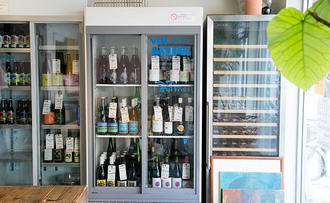 東武練馬『まさもと』に並ぶ自然派ワイン