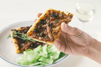 南仏の定番ピザ!冷凍パイシートで作るピサラディエールのレシピ