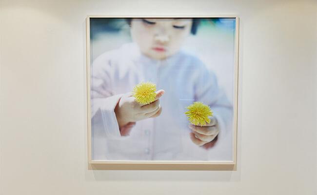 写真家・川内倫子が撮り下ろした7歳の私とカーディガンプレッション
