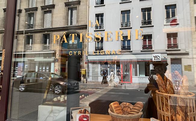 『LA PATISSERIE Cyril Lignac(パティスリー・シリル・リニャック)』の外観