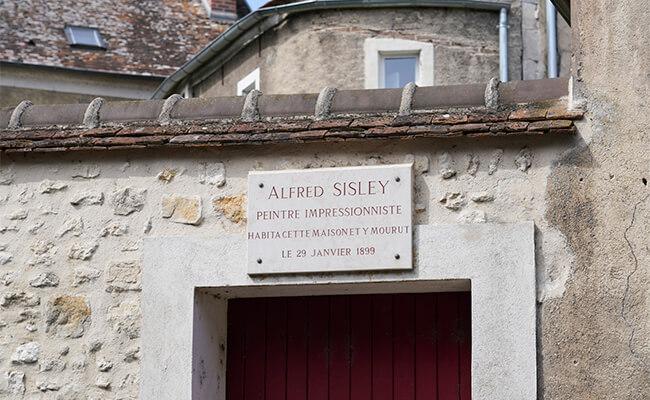 印象派の画家アルフレッド・シスレーゆかりの地へショートトリップ