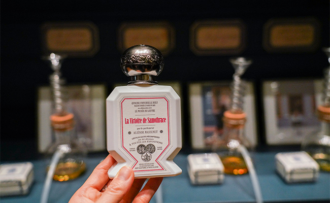 香水ブランド『ビュリー』とルーブル美術館がコラボ!アートな香りが登場
