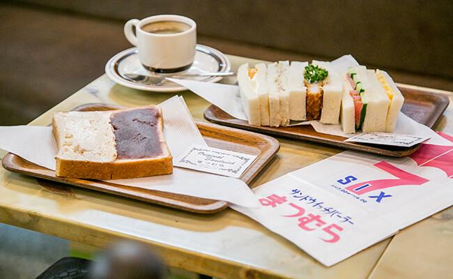 『サンドウィッチパーラー まつむら』のパン