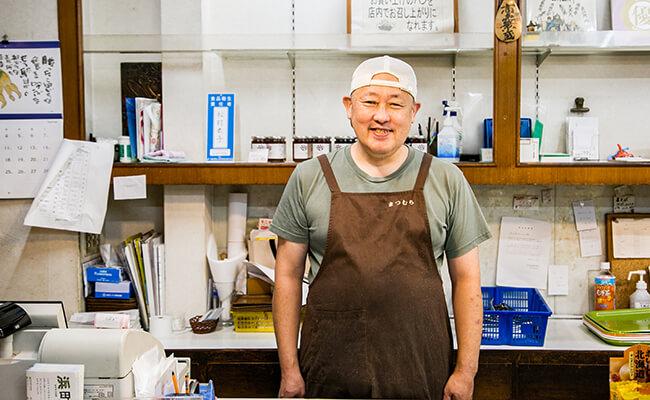 『サンドウィッチパーラー まつむら』4代目店主の松村さん