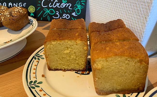 パン屋『chardon(シャルドン)』のレモンケーキ