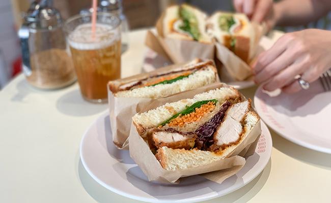 『sando club(サンドクラブ)』のサンドイッチ
