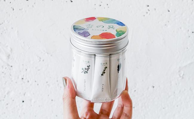 新しい絵の具ブランド『香の具』チューブタイプ