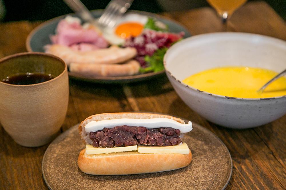 奥渋谷の名店『ビストロ ロジウラ』の「あんバターリコッタチーズサンド」